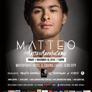 Matteo Made In Cebu: Guidicelli's 10th Showbiz Anniversary Concert