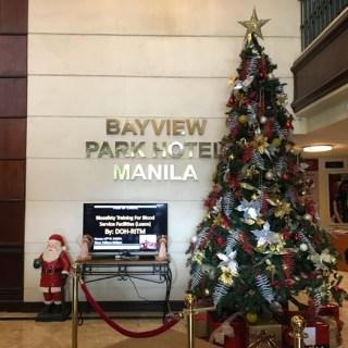 Celebrate Christmas at Bayview Park Hotel Manila