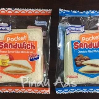 Gardenia's Newest Snack: POCKET SANDWICH