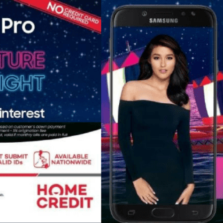 Samsung J7 Pro for as low as Php 1099/month through Home Credit