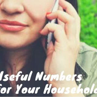 Useful Numbers for Your Household