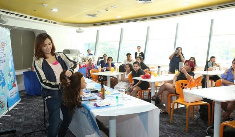 Hair Care and Styling Tips at Licealiz Kick-Start the Learning Experience Workshop
