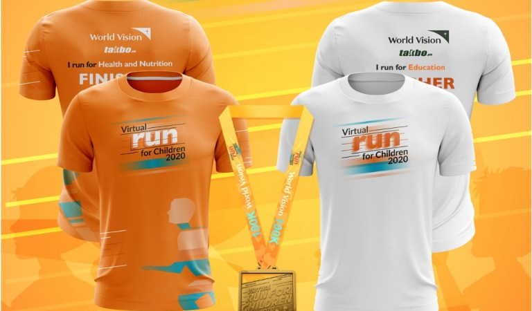 World Vision invites you to join its 1st Virtual Run for Children