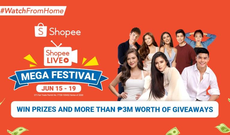 Shopee Kicks Off Shopee Live Mega Festival