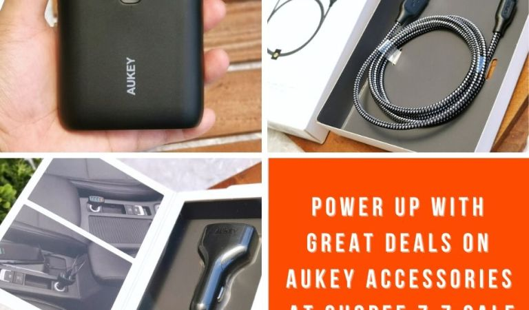 Power up with Great Deals on Aukey Accessories at Shopee 7.7 Sale