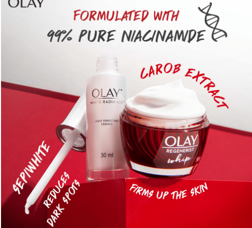 Get Younger & Smoother Skin with Olay Skin Care; Available on Shopee