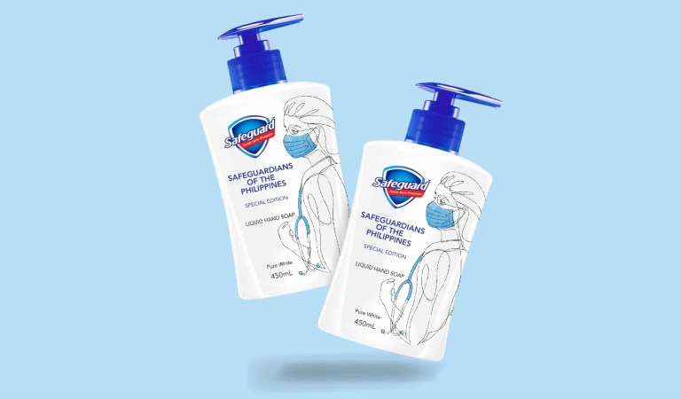 Safeguard Releases Limited Edition Hand Soap to Support Frontliners as COVID-19 Cases Reach an All-Time High