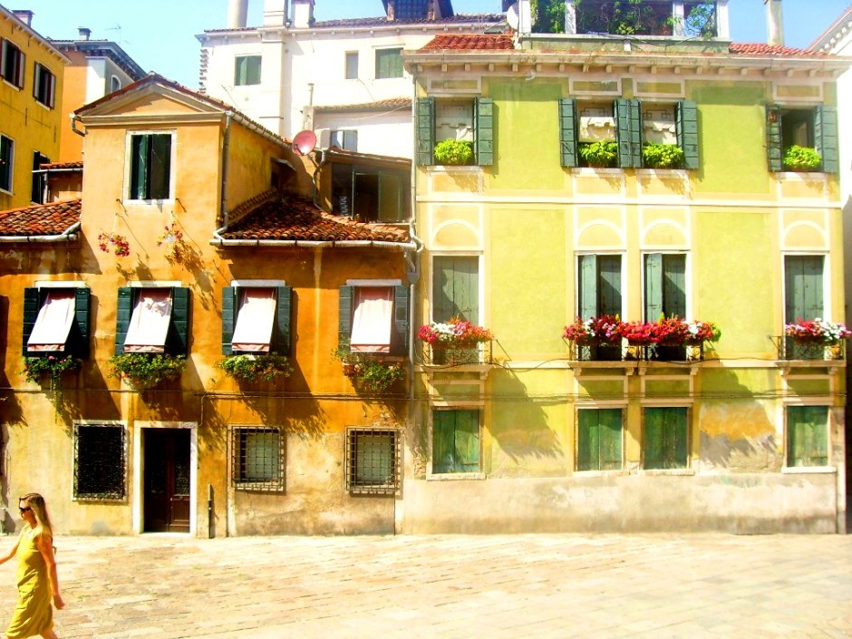 One of the many campos in Venice.
