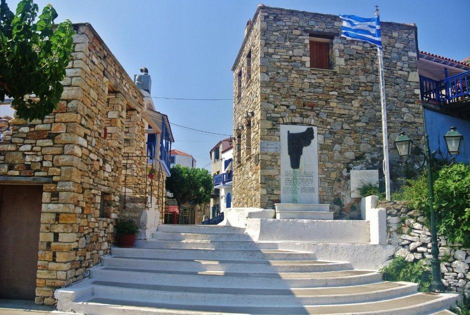 Old Chora, Alonissos Greece