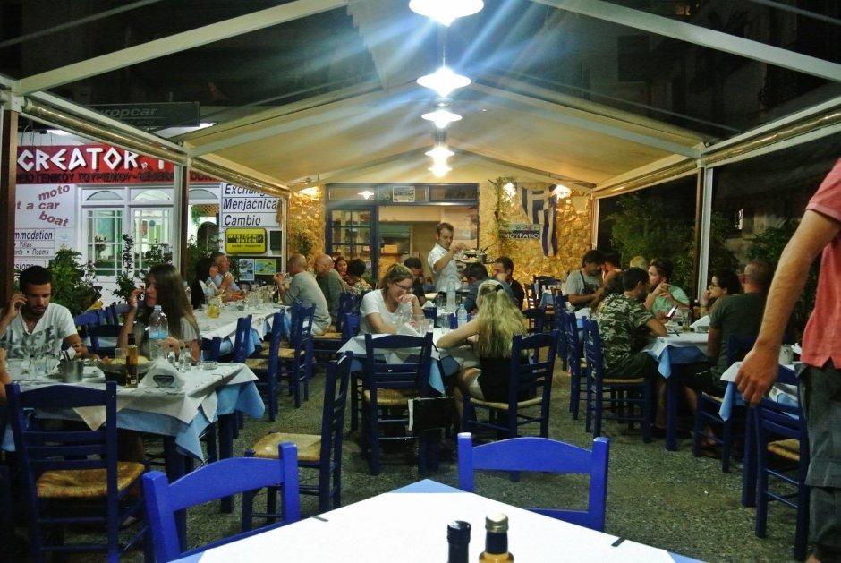 Mouragio Fish Tavern, Skiathos, Greece