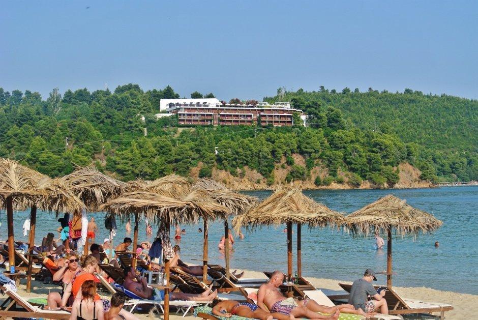 Koukounaries Beach, Skiathos, Greece