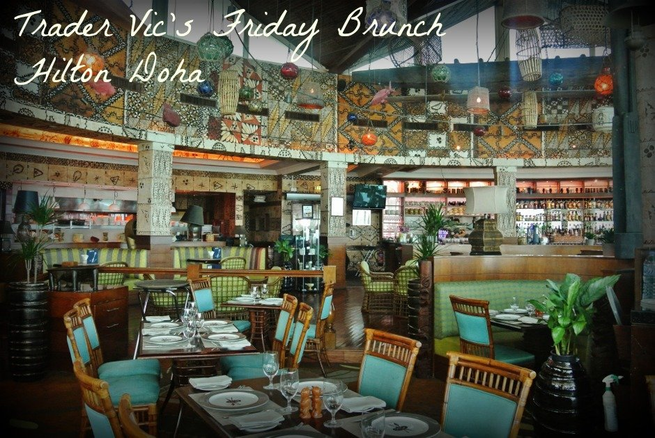 Trader Vic's Friday Brunch