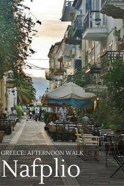 Photo walk around the Old Town of Nafplio, Greece