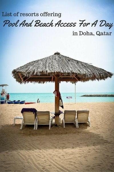 Pool And Beach Access in Doha