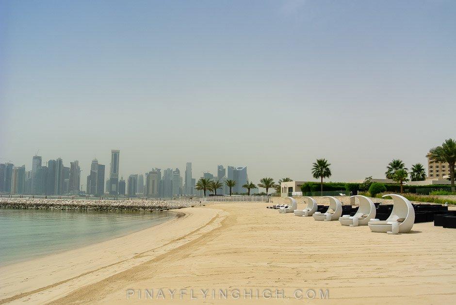 pool and beach access, St Regis Doha, Pinayflyinghigh.com-14