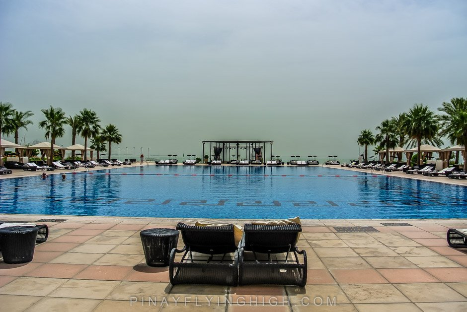 POOL AND BEACH ACCESS, St Regis Doha, Pinayflyinghigh.com-3
