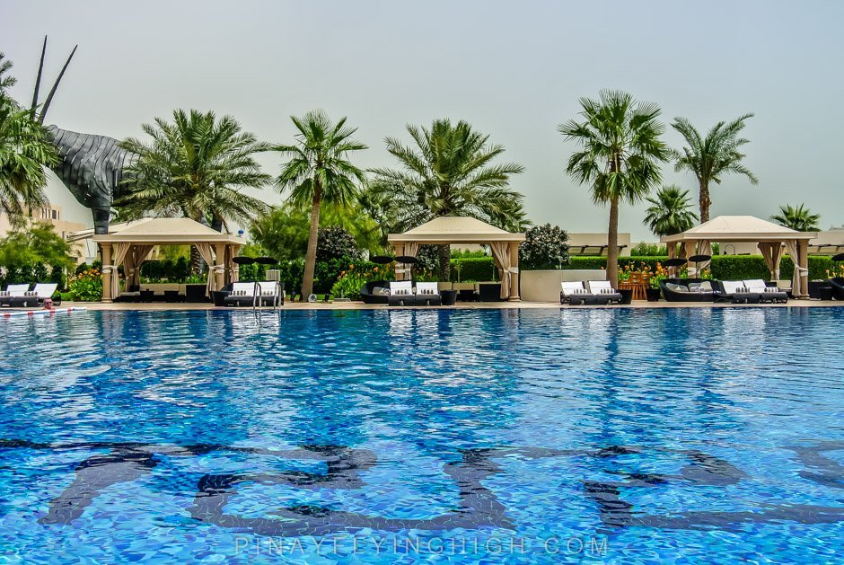 Pool and beach access, St Regis Doha, Pinayflyinghigh.com-6