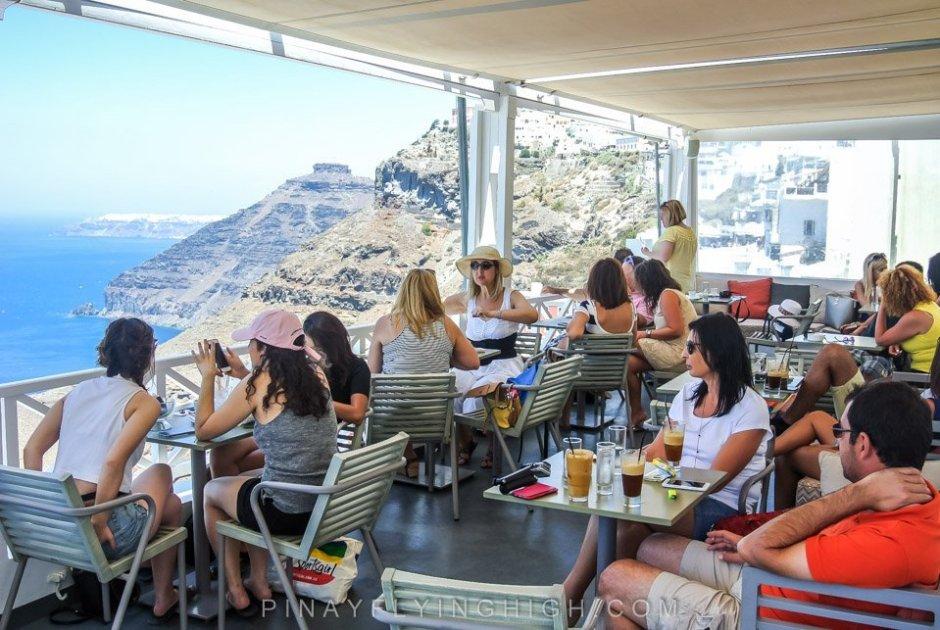 Iriana Cafe, Santorini, Greece - PinayFlyingHigh.com