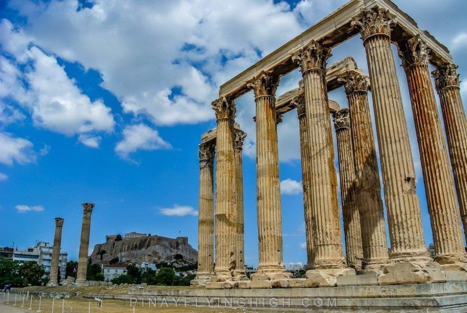 TEMPLE OF ZEUS, Athens, Greece PinayFlyingHigh.com-11