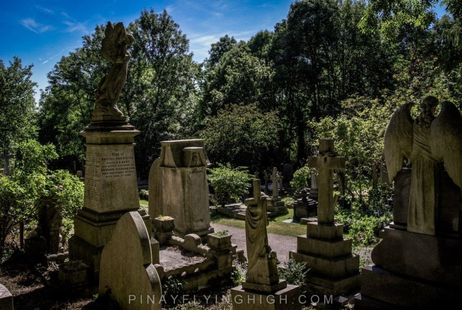 Highgate Cemetery, London - PinayFlyingHigh.com-16