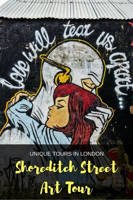 Shoreditch Street Art Tour, London - PinayFlyingHigh.com