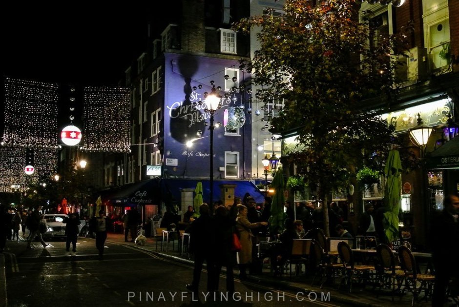 James Street Christmas Lights, London - PinayFlyingHigh.com