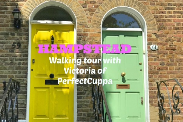Hampstead walking tour with Victoria of Perfect Cuppa
