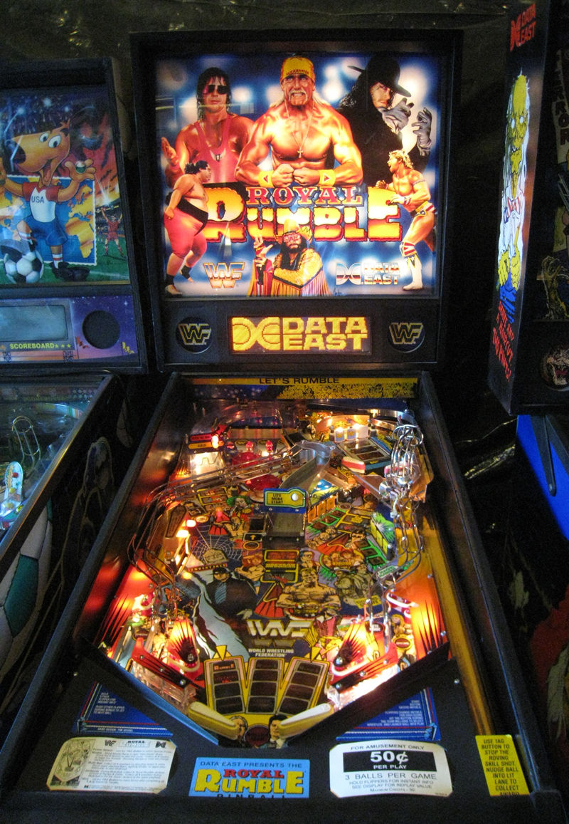 Image result for wwf royal rumble pinball