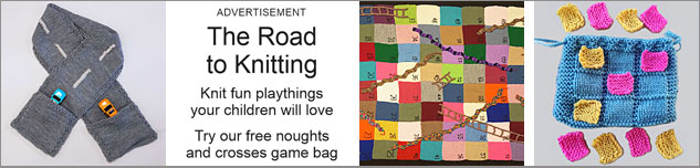 The Road to Knitting - knit fun playthings your children will love
