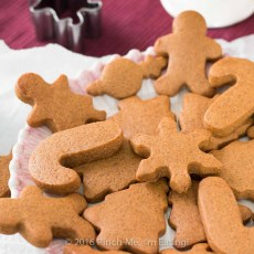 Get in the holiday spirit with some spicy, chewy gingerbread cookies! They keep their shape when cut with cookie cutters and they stay soft and delicious! They're the ultimate Christmas cookies.