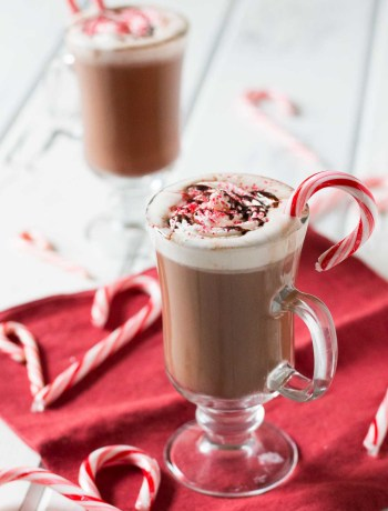 Why spend $5 on an expensive coffee drink when you can make your own homemade peppermint mocha in just a few minutes? No espresso maker or special syrups required!