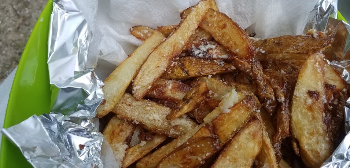 Buttery Garlic Camp French Fries