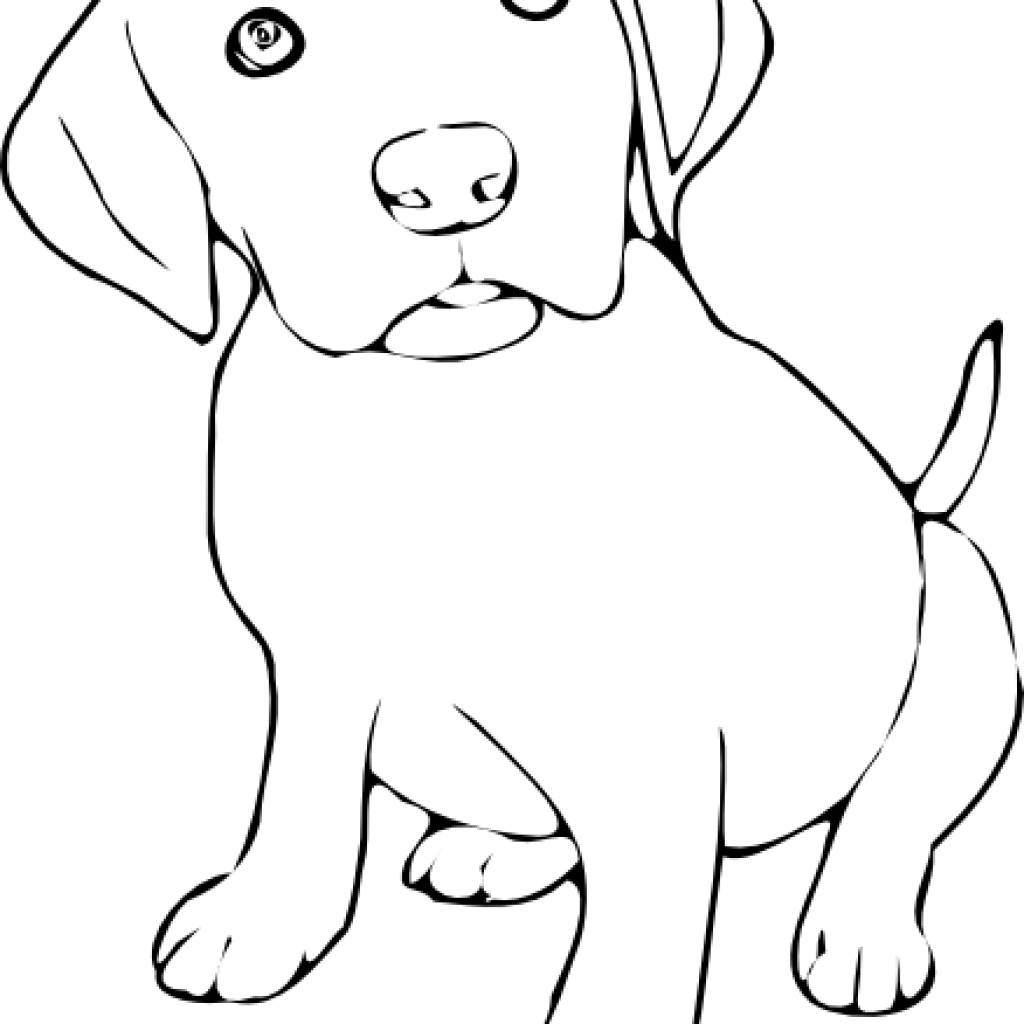 Dog Clipart Black And White Free Black And White Clipart