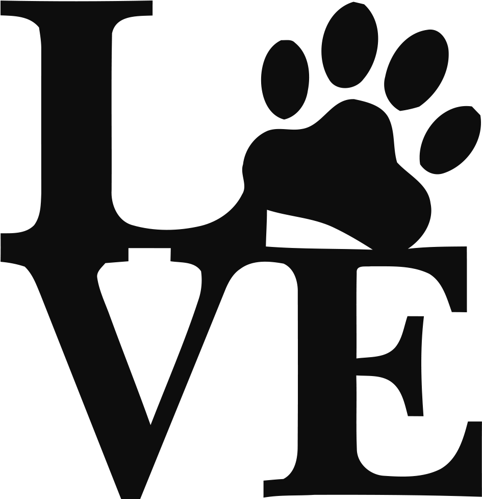 Download Welcome - Love Paw Print Svg Clipart - Full Size Clipart ...