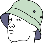 Drawing Guys Attitude Boy Clip Free Library Bucket Hat Drawing Png Download Full Size Clipart 1987608 Pinclipart