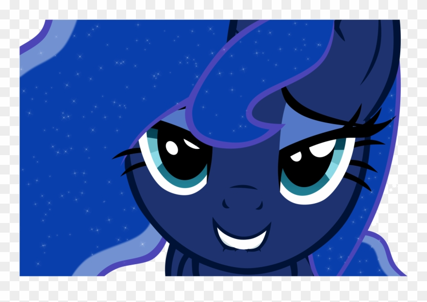 Yeah Seely Ll Be Afk My Little Pony Princess Luna Face Clipart 1497480 Pinclipart