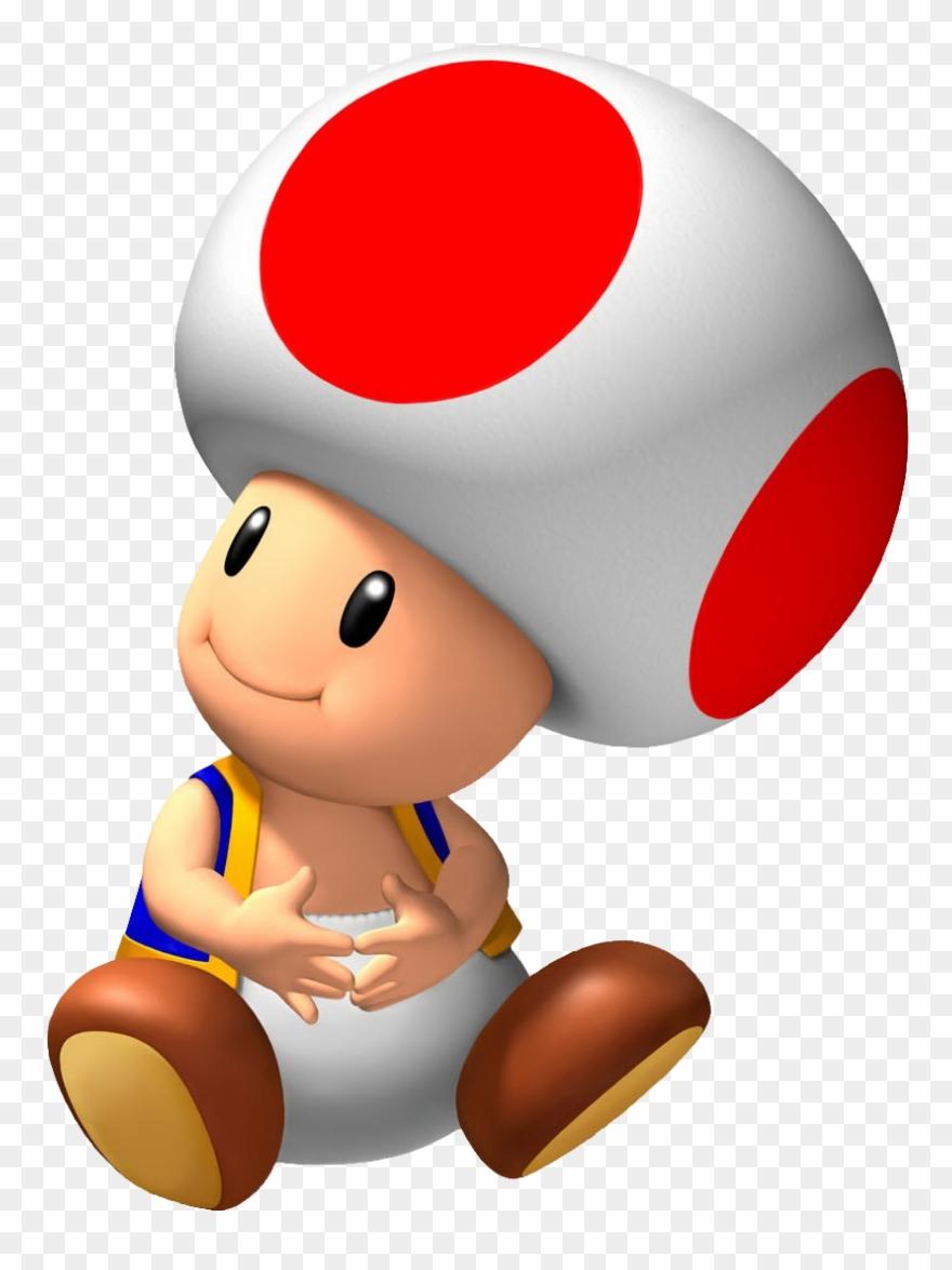 Nintendo Clipart Mario Mushroom Toad Mario Bros Png Download 1525495 Pinclipart