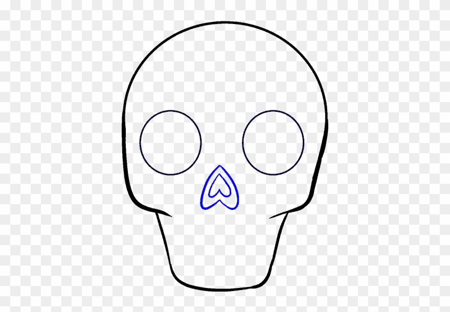 How To Draw Sugar Skull Drawing Clipart 1649634 Pinclipart