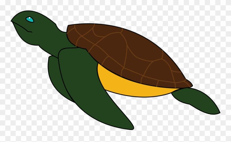 Sea Turtle Green Sea Turtle Clipart 1719872 Pinclipart