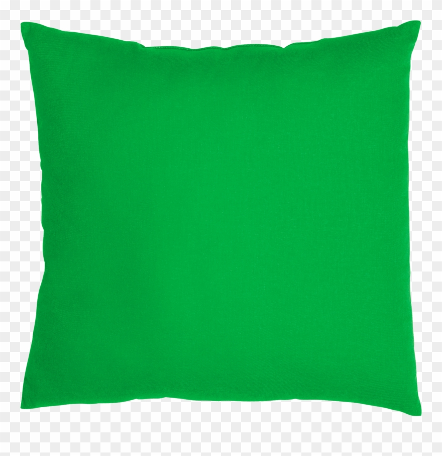 green pillow with no background clipart