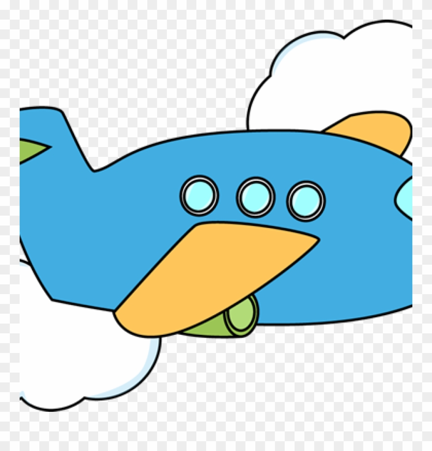 Airplane Clipart Cute Airplane Airplane Flying Through Airplane Png Download 191598 Pinclipart