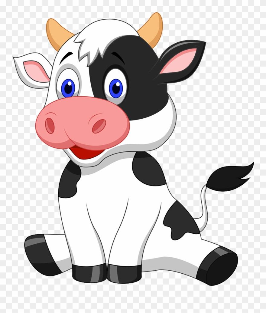 Cow Clip Art Transparent Background Picture Transparent Transparent Background Cow Clipart Png Download 21583 Pinclipart