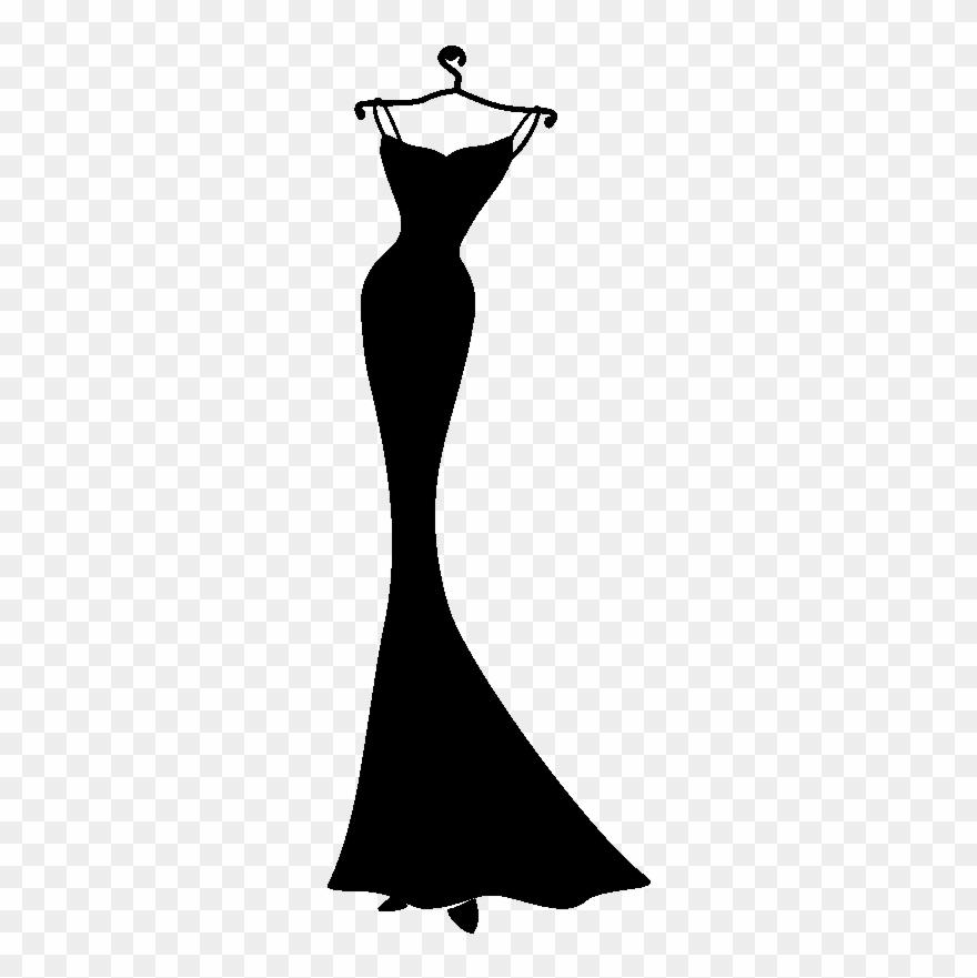 sticker design robe elegante ambiance