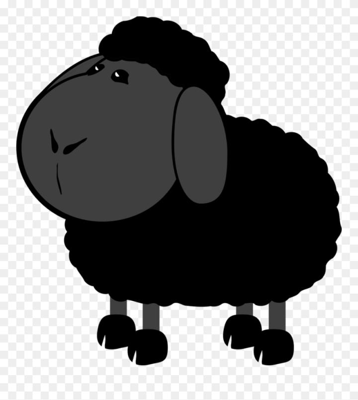Cartoon Black Sheep Images   secondtofirst com