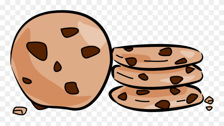 Cookie Clip Art Clipart Chocolate Chip Cookie Biscuits Transparent Background Cookies Clipart Png Download 48858 Pinclipart