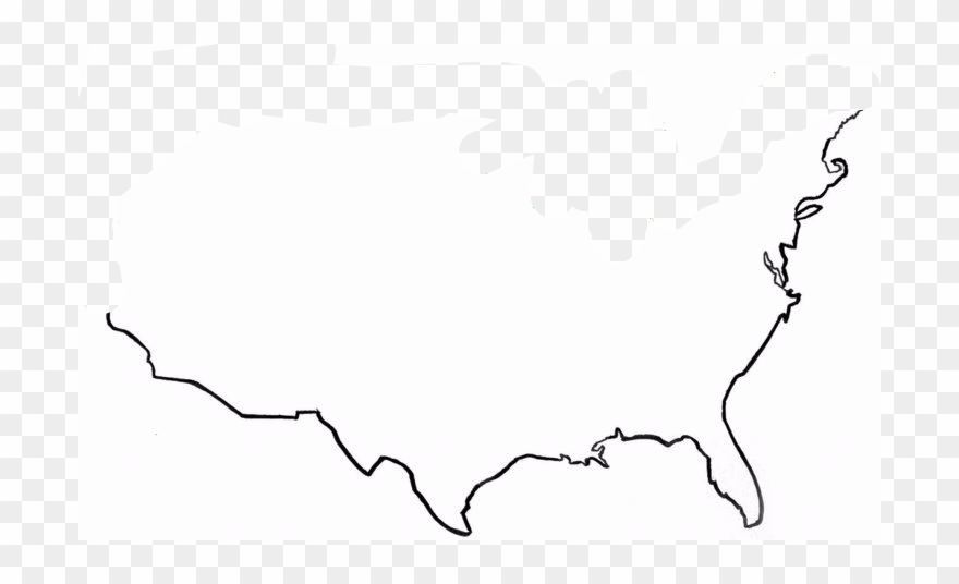 Whether it be data quality or user experience, they all still get it wrong too often to be acceptable, and t. United States Map Outline High Resolution United States Outline Map Clipart 4438326 Pinclipart
