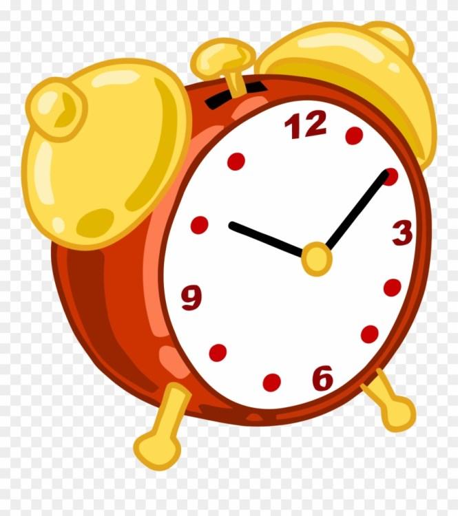 Cartoon Alarm Clock Clipart Png