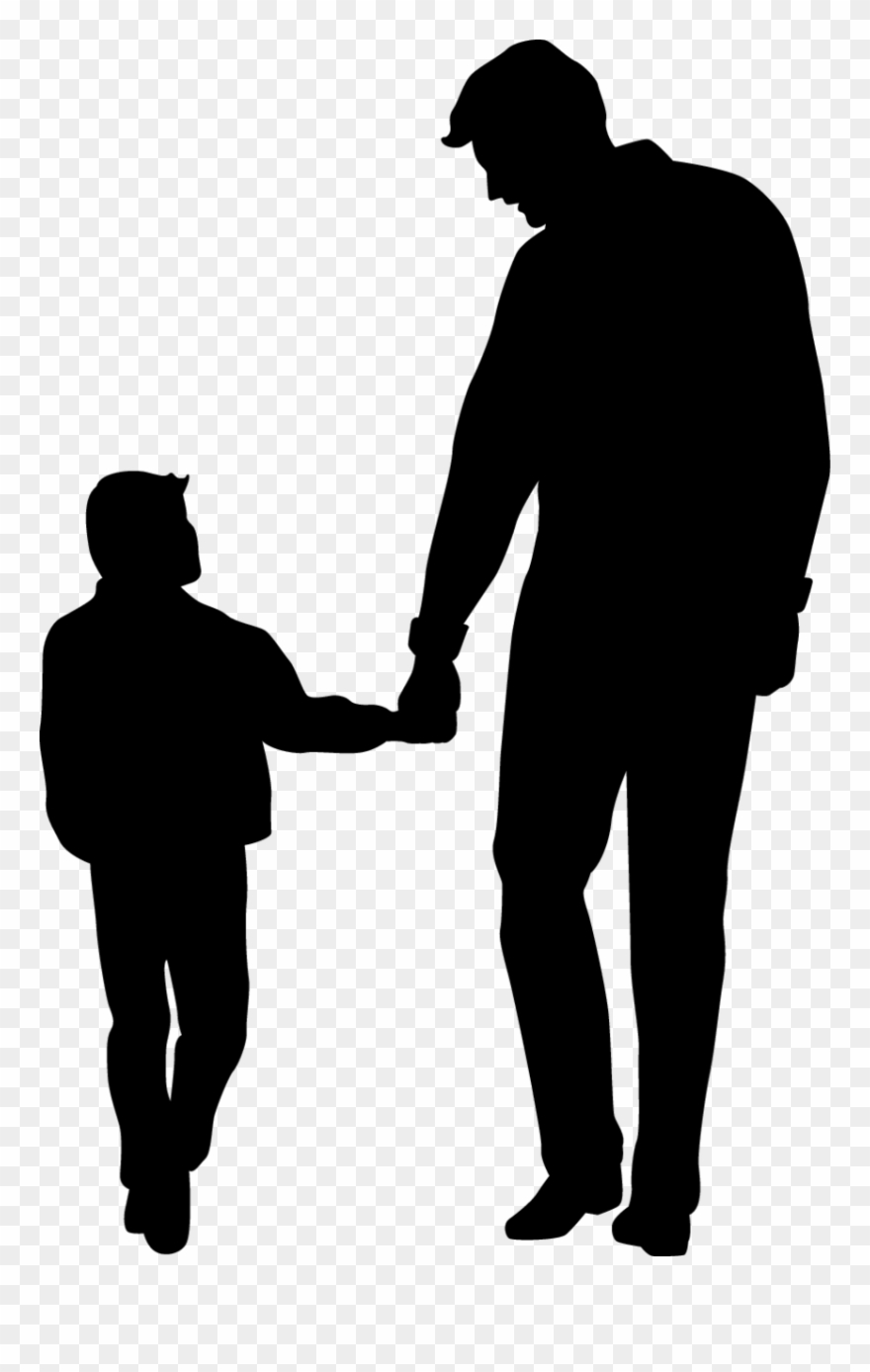 Download Father's Day Son Clip Art - Father And Son Silhouette ...