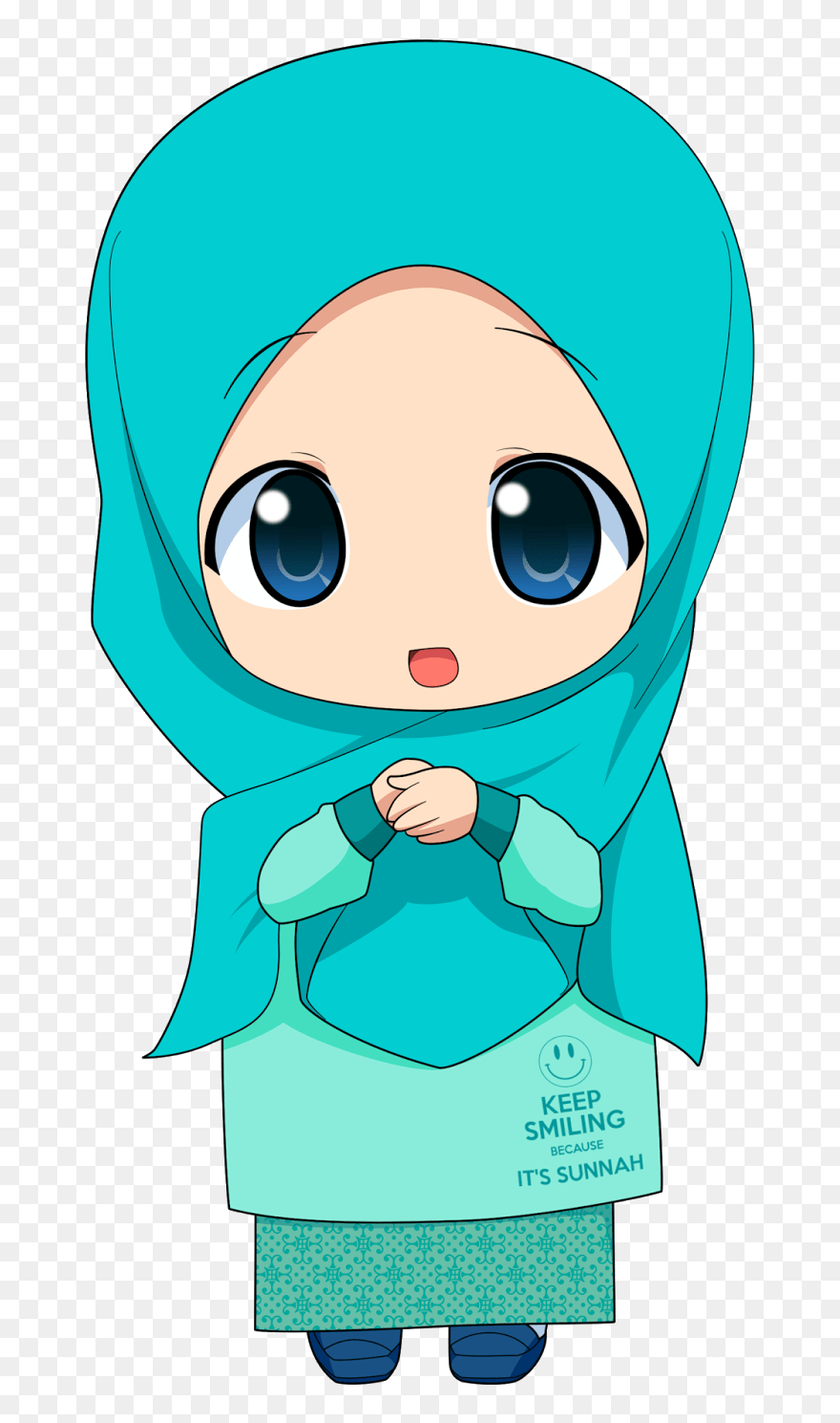 Free clipart images for commercial use. Anime Girl Hijab Clipart (#5517942) - PinClipart