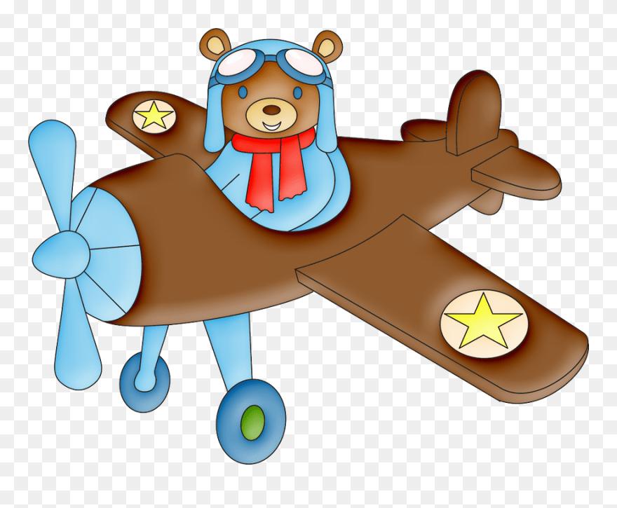 Quadro decorativo avião caça yak 3 exercito desenho com preço especial aqui no extra.com.br. Ursinho No Aviao Desenho Clipart 5641599 Pinclipart